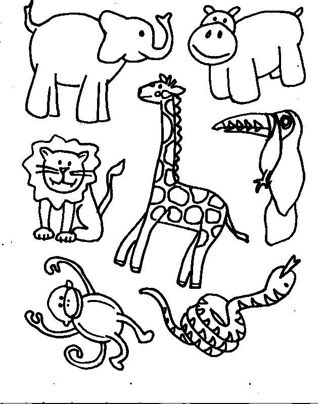 Coloring Pictures Of Animals Coloring Ville Free Printable Coloring Pages Animals