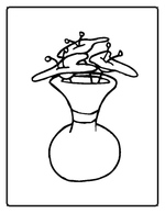 flowers coloring pages 2