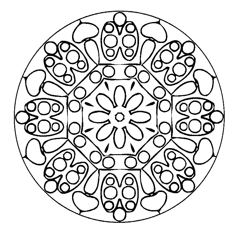 Mandala Coloring Pages Coloring Ville Printable Mandala Coloring Pages