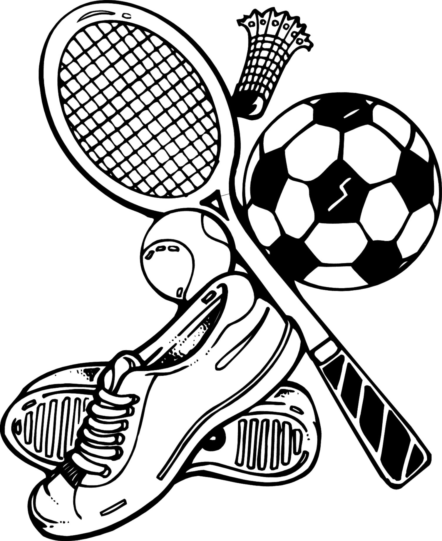 sports coloring pages for kid - photo#19